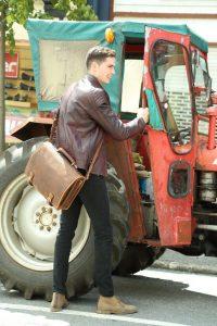 Hulk Leather Briefcase