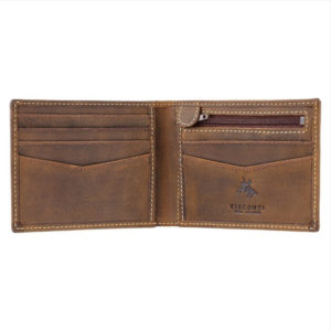 Sword Leather Wallet