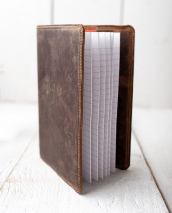 Distressed Leather Notebook