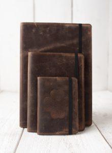 Irish Leather Notebook