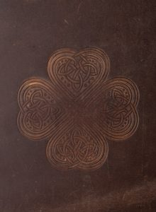 Irish Leather Notebook