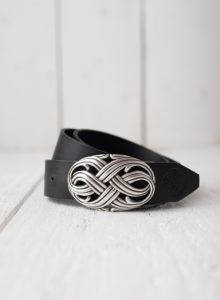 Infinity Leather Belt