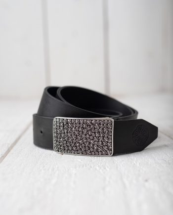 Roses Leather Belt