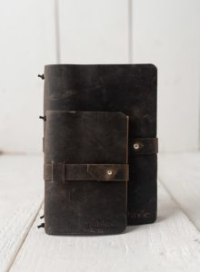 Leather Sketchbook Cover