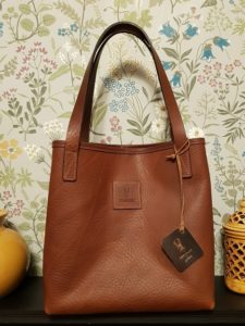 Leather Bag Made in Ireland