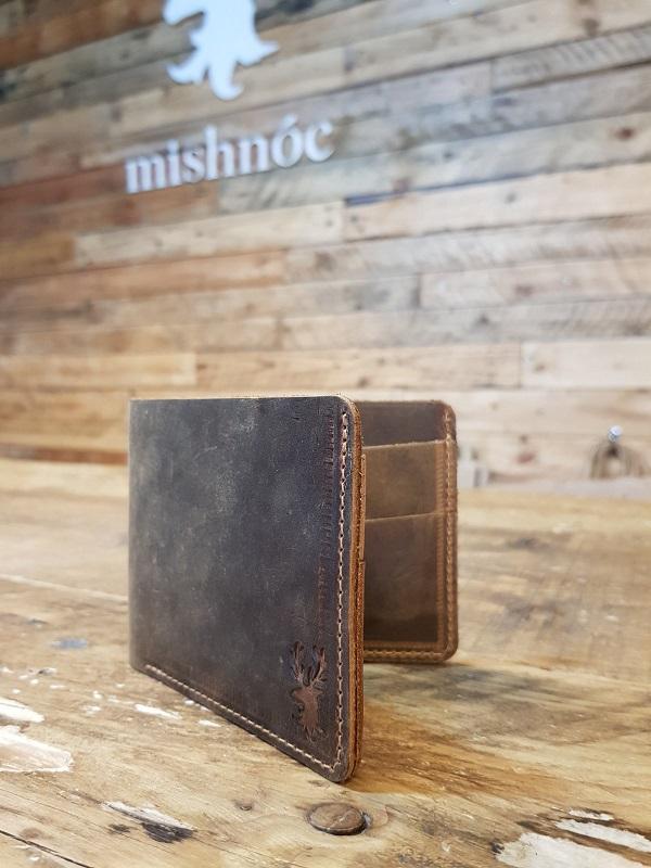 Irish Made Leather Wallet