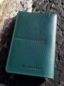 Irish Leather Passport Cover