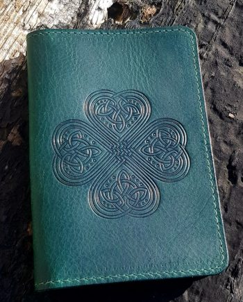 Irish Leather Passport Cover