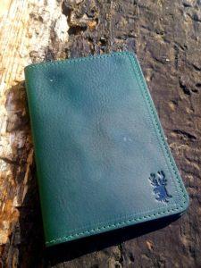 Irish Leather Passport Holder