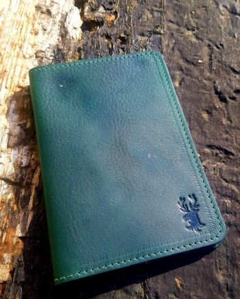 Irish Leather Passport Holder