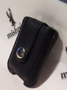 Leather Zippo Pouch