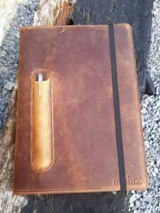 mishnóc Leather Notebook