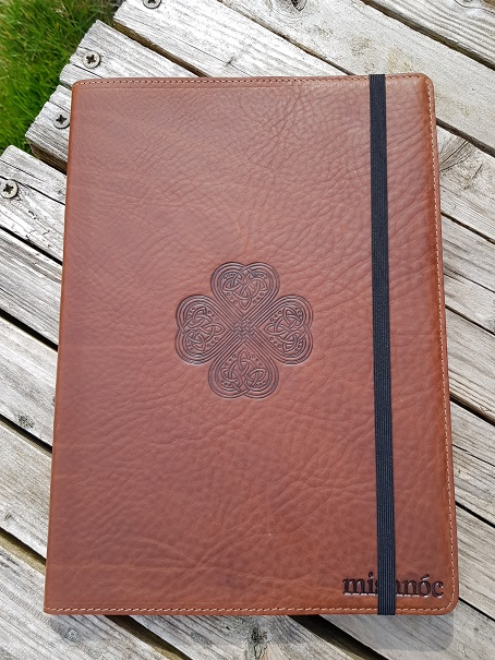 Irish Leather Journal Cover