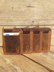 Leather Card and Notes Holder