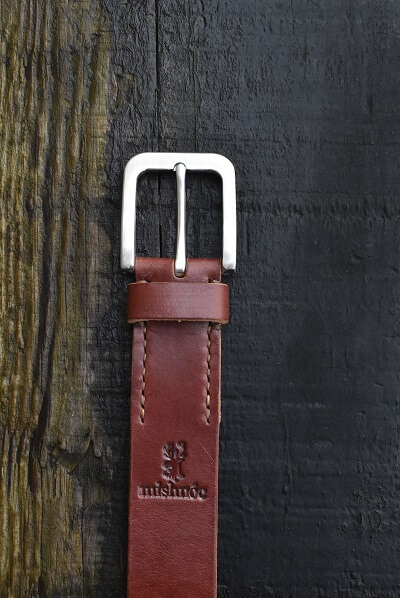 Bull Hide Leather Belt