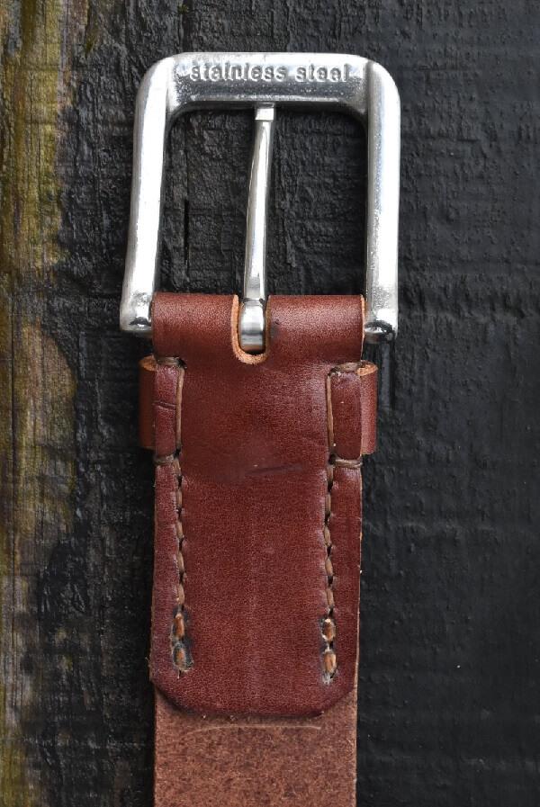 Bull Hide Leather Belt